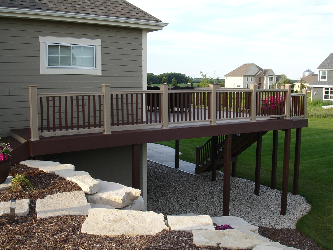 custom built decks derse builders of southeastern wisconsin